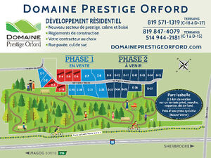 Domaine prestige Orford (Magog) terrain No. C-21