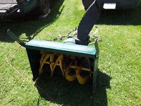 souffleur pour souffleuse,tracteur,vtt, 33 pouces,Année 2012