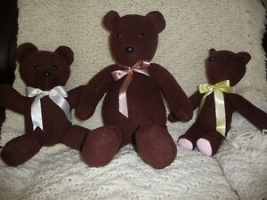 For Sale:  Homemade Stuffed Animals