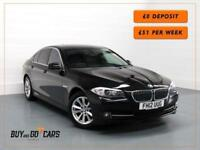 2012 12 BMW 5 SERIES 2.0 520D EFFICIENTDYNAMICS 4D 181 BHP DIESEL