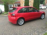 MG ZR 3 door hatchback 2002 02 REG good condition long MOT part ex to clear