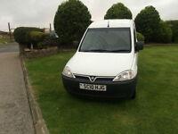 2010 10 Vauxhall Combo 1.3CDTi Diesel 16v 2000 Van White.