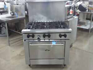 GARLAND 6 BURNER RANGE / RESTAURANT EQUIPMENT