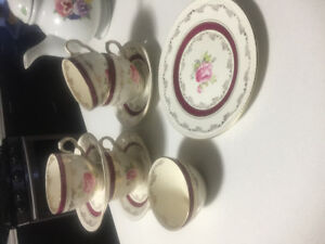 Winterton princess rose tea cups and more