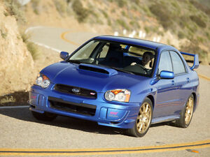 looking for a subaru wrx or sti