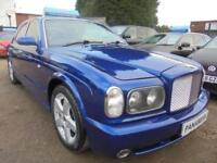 2002 02 BENTLEY ARNAGE 6.8 T 4D AUTO 451 BHP LOW MILEAGE ONLY 43K MILES SERVICE