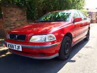 Volvo S40 I 1.6 Red Full MOT Drives Superb BARGAIN! * Air Condition