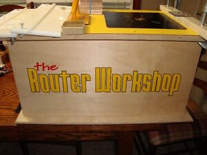 ORIGINAL ROUTER WORKSHOP QUALITY ROUTER TABLE SYSTEM