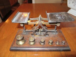 antique post office weigh scales Belleville Belleville Area image 3