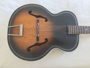 Guitare archtop