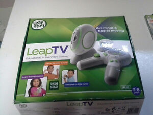 Leap Tv and 4 games London Ontario image 1