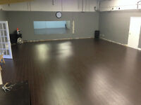 Studio Class Space for rent