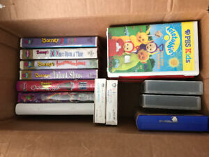 Barney + other various movies (VHS Collection)