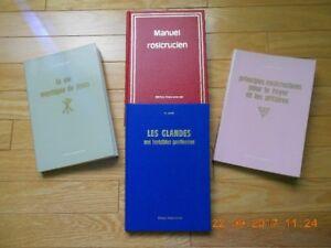 4 volumes des Éditions Rose-Croix .........