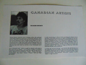 Richard Shorty : Minnows: Limited Edition Print 1992  s/n London Ontario image 6