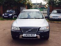 VOLVO XC70 CROSS COUNTRY...2.5 TURBO SE GEARTTONIC MINT RUNNER FULL HISTORY MAJOR SERVICE DONE 1795