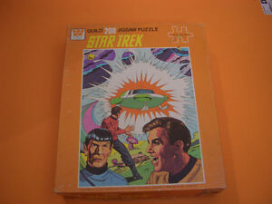 (3) STAR TREK GUILD PUZZLES (ALL COMPLETE) (ONE SEALED) London Ontario image 6