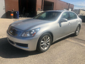 2008 INFINITI G35X AWD   CLEAN TITLE  LOW KM   FRESH SAFETY