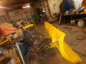 Minute mount Fisher 7.5 snow plow blade chevy