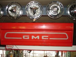 1958 to 1966 GMC Fleetside tailgates