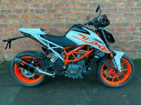 New KTM Duke 390 SAVE £500 ready to race for only £16.99 a week