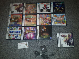 ** DS + 3DS Games, Charge Cables + More **