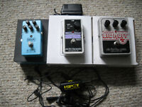 Guitar Pedals - MXR & EHX