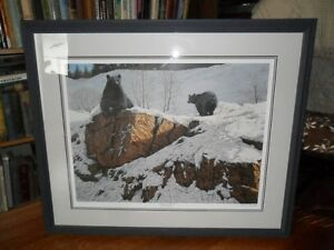 "Duck Unlimited Donald Curley's ""WakeUp Call"" Signed Print."