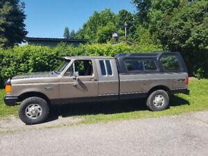 87 F250 4x4 Alberta Truck!