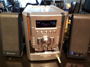 Sony CMT-HP7 Micro Hi-Fi Component System 5 Disc CD Changer AM/F