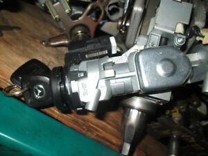 IGNITION SWITCH WITH KEY USED MAZDA 3 6 CX7 PROTEGE RX8