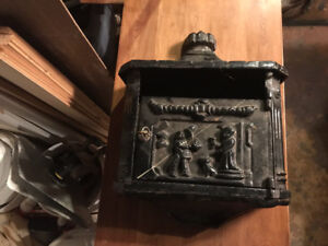 Case Iron Mail Box Very Cool Piece