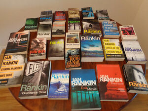 """Complete Ian Rankin """"Inspector Rebus"""" Collection"""