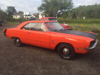 "1971 DODGE DART SWINGER 340 HEMI ORANGE ""SLEEPER"""