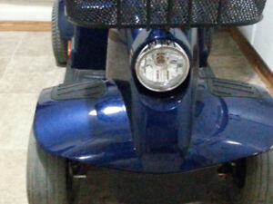 perfect fortress D/T scooter hardly used new 40-AH Batteries