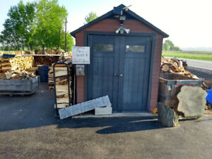 Firewood Open Daily, Weekends & Holidays Self Serve Pay Box