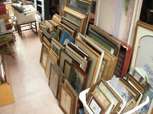 Clearance of Old Art Frames Cambridge Kitchener Area image 1