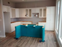 Cabinet Installation and Refacing