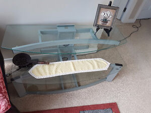 Bell'O Glass TV Stand (Tempered glass)