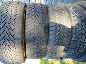 4 p225/65r16 goodyear tires severe snow rated