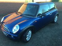 2003 MINI ONE 1.6, 77000 MILES, 5 MONTHS MOT, ONLY £1595