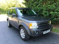2006 LAND ROVER DISCOVERY 3 2.7 TDV6 SE AUTOMATIC 4X4 7 SEATER