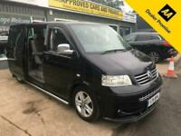 2005 Volkswagen Caravelle 2.5 EXECUTIVE TDI 5d 172 BHP 7 SEATER WITH DOUBLE BED,