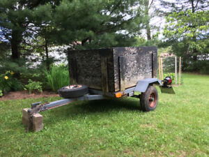 UTILITY TRAILER SMALL LOADS AND CARGO