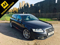 2010 Audi A6 Avant S Line 2.0TDI 170BHP Special Edition *FSH NAV HEATED LEATHER*