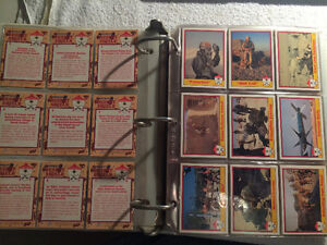 Militaria, Desert Storm collector cards Mint Condition