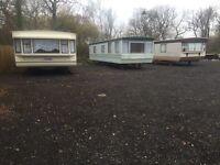 Static caravan for rent