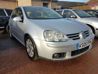 LOW MILEAGE VW GOLF 4Motion GT TDI, FULL SERVICE HISTORY
