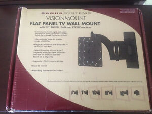 Brand new Sanus high quality flat panel wall mount