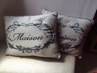 Two cushions for £5